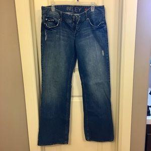 Denim - Boyfriend Style Jeans, Medium Wash